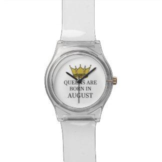 Relógio De Pulso O Queens é nascido em agosto