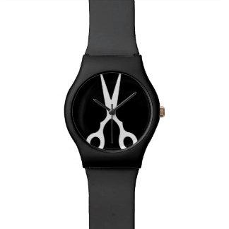 Relógio De Pulso O vetor simples Scissors (escolha sua própria cor)