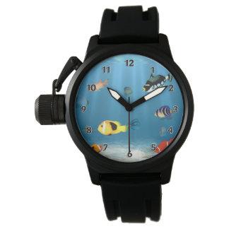 Relógio De Pulso Oceanos dos peixes