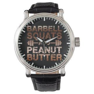 Relógio De Pulso Ocupas e manteiga de amendoim - motivação de