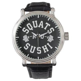 Relógio De Pulso Ocupas e sushi - carburadores e dia do pé - Gym