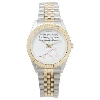Relógio De Pulso Ofertas dos presentes das lembranças do casamento