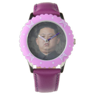 relógio de pulso oficial do un do jong de kim