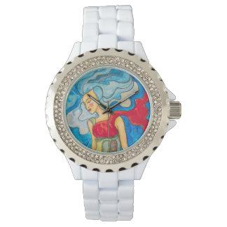 Relógio De Pulso Onda azul
