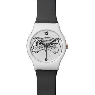 Relógio De Pulso Original minimalista legal do esboço artístico