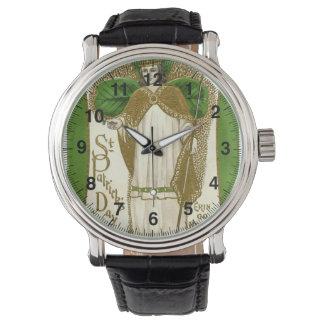 Relógio De Pulso Os cumprimentos Erin do dia de St Patrick do