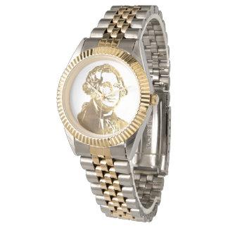 Relógio De Pulso Ouro americano do retrato do presidente George