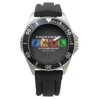 Relógio De Pulso Paintball legal é um modo de vida