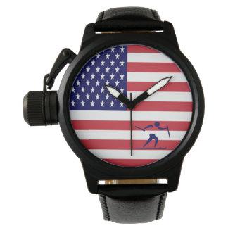 Relógio De Pulso País transversal EUA da equipe