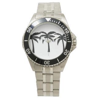 Relógio De Pulso Palmeiras tropicais