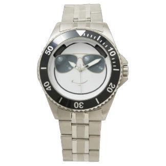 Relógio De Pulso Panda viril Emoji de Kool Kat do homem