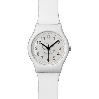 Relógio De Pulso Para doutores e enfermeiras. Estetoscópio médico