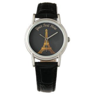 Relógio De Pulso Paris: Excursão Eiffel do La