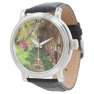 Relógio De Pulso Passeio de Madeira