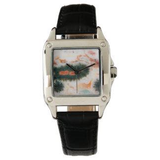 Relógio De Pulso Pedra do jaspe do oceano encontrada em Madagascar