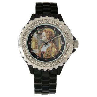 Relógio De Pulso Pedras preciosas do rosa da MARIA MADALENA do