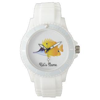 Relógio De Pulso Peixes amarelos