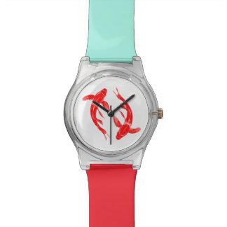 Relógio De Pulso Peixes de Koi