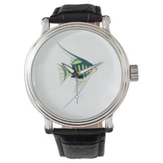 Relógio De Pulso Peixes tropicais