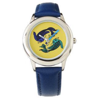 Relógio De Pulso Peixes Yang