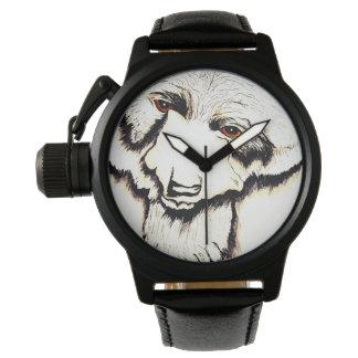 Relógio De Pulso Pelos olhos de um urso preto