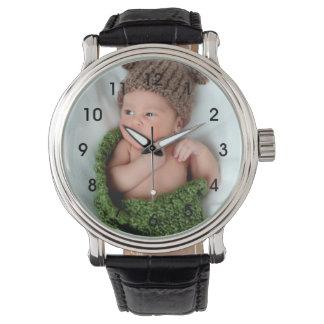 Relógio de pulso personalizado da foto