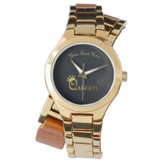 Relógio de pulso personalizado rainha