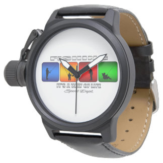 Relógio De Pulso Pesca legal é um modo de vida