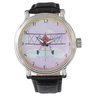 Relógio De Pulso Piloto Airshow do aviador da força aérea do avião