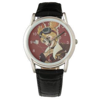 Relógio De Pulso Pinup das notícias bombásticas de Harley Quinn
