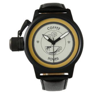 Relógio De Pulso Poder do café