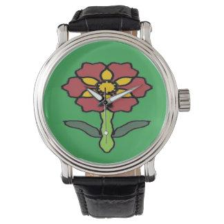 Relógio De Pulso Poinsétia bonito