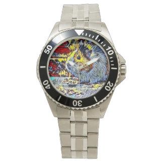 Relógio De Pulso Pontapé da cor - cobaia 2