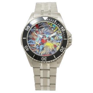 Relógio De Pulso Pontapé da cor - preguiça II