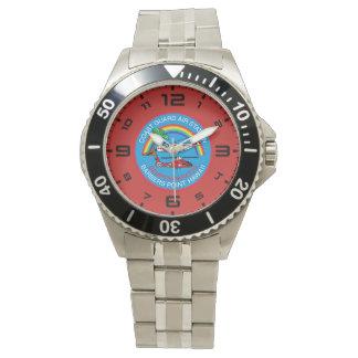 Relógio De Pulso Ponto Havaí dos barbeiros da estação aérea da