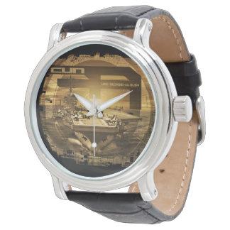 Relógio De Pulso Porta-aviões George H.W. Bush