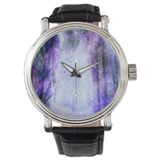 Relógio De Pulso Portal mágico na floresta