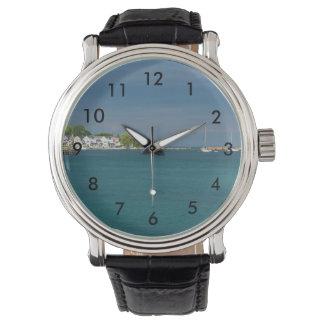Relógio De Pulso Porto da ilha de Mackinac