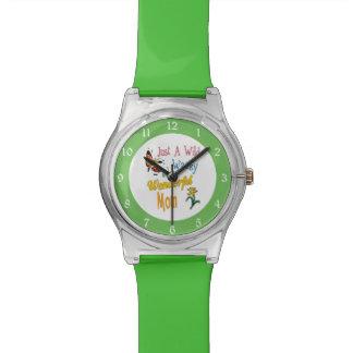 Relógio De Pulso Presentes maravilhosos malucos selvagens da mamã