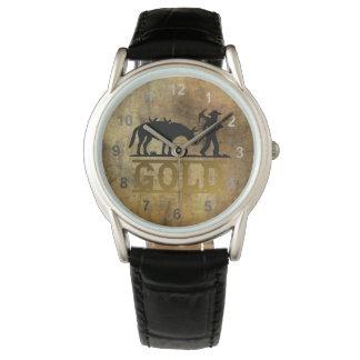 Relógio De Pulso Prospector. do ouro