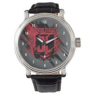 Relógio De Pulso Protetor escovado | da pintura JL da liga de