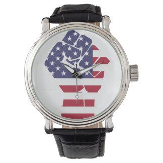 Relógio De Pulso Pulso de disparo para patriotas do americano