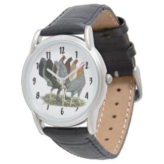 Relógio De Pulso Quatro galinhas de Gamefowl