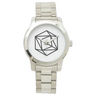 Relógio De Pulso Rainha (p)/bracelete de prata desproporcionado
