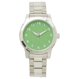 Relógio De Pulso Reflexo verde