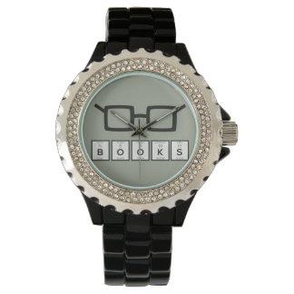 Relógio De Pulso Registra os vidros Zh6zg do nerd do elemento