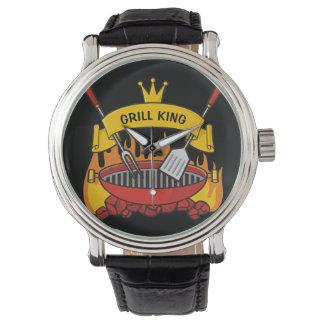 Relógio De Pulso Rei da grade
