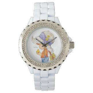 """Relógio De Pulso """"Relógio de aço inoxidável do bracelete do Belle"""