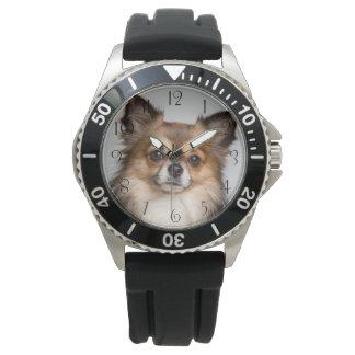 Relógio De Pulso Retrato impressionante da chihuahua