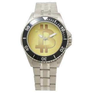 Relógio De Pulso Revolução cripto de Bitcoin